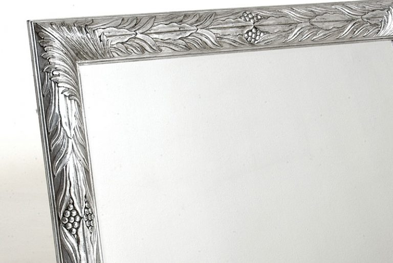 PH&L - Tradicionales Marcos y Espejos Plata a la hoja
